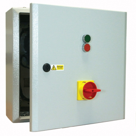 Star Delta Starter 22kW 415V Coil with Isolator