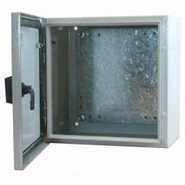 250 x 250 x 150mm IP65 Steel Enclosure