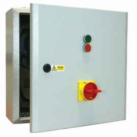 Star Delta Starter 11kW 415V Coil with Isolator