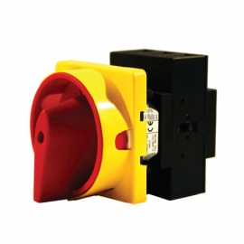 100A 3P Panel Mount Switch Padlockable