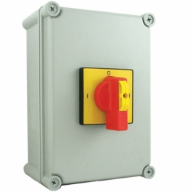 125A 4 Pole IP65 Metal Generator Changeover Switch