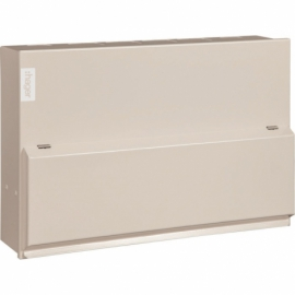 Hager 10 Way Amendment 3 Consumer Unit Steel 80A