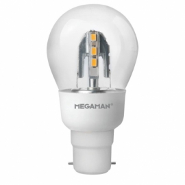 Megaman 6W Incanda Dimmable LED Classic BC B22